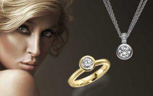 Eheringe und Diamanten von 123gold