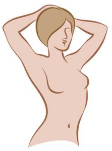 Symbolbild Brustvergrößerung