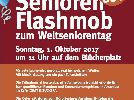 1. Kieler Senioren-Flashmob zum Weltseniorentag
