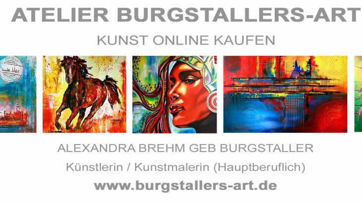 www.burgstallers-art.de - Gemälde online kaufen