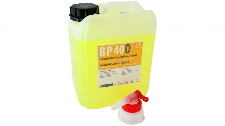 BP40D viruzider industrieller reiniger desinfektion gegen viren