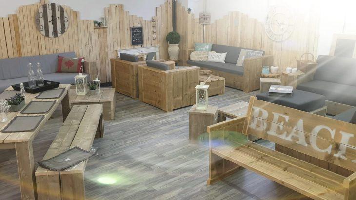 Gartenmöbel aus Bauholz